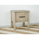 skandinavský noční stolek