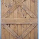 detail dřevěných latí
