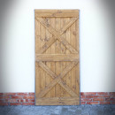 dveře v ocelovém rámu whisky