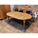 stół z drewna świerkowego