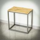 surový nízký stolek