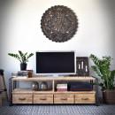 Tv stolek Steel wood