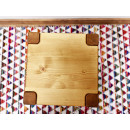 Stolička ze smrkového dřeva