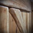 detail dřevěného překřížení