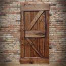 dubové dveře tmavé