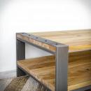 železný konferenční stolek