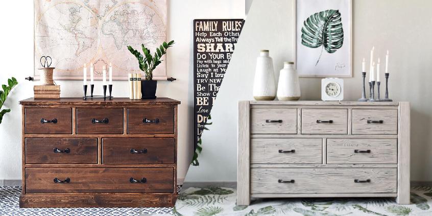 Jak jednoduše stylizovat dřevěný nábytek?