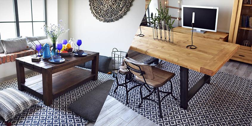 Jak míchat dřevěný nábytek v interiéru? Žádné složitosti zde nehledejte!