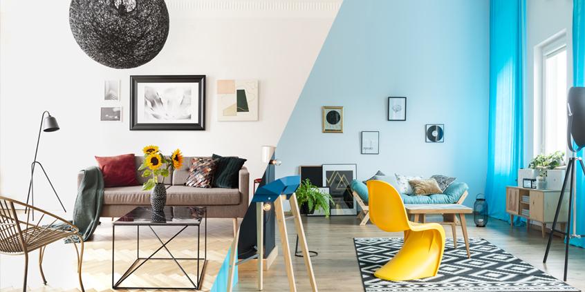 Eklektický styl pomocí masivního nábytku? Hravě!