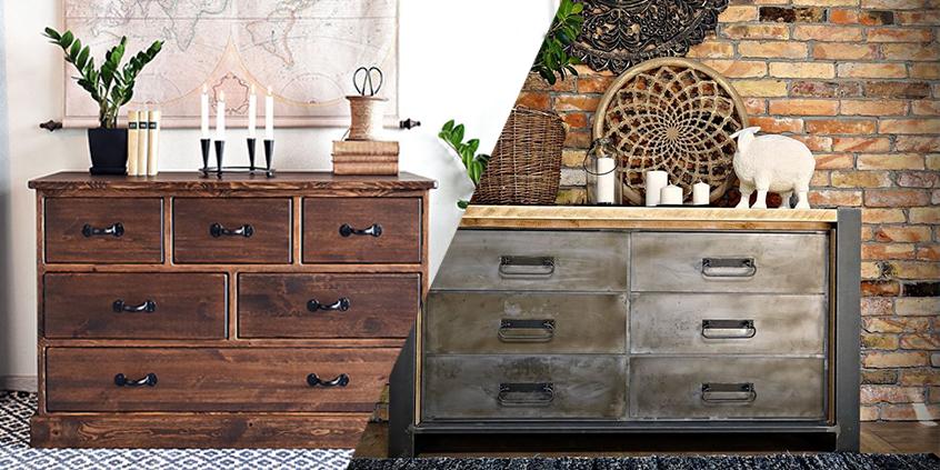 4 nejlepší zásuvkové komody pro vaši ložnici