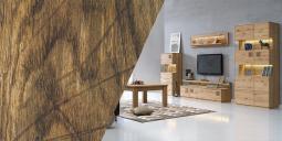 Lehký a vzdušný obývací pokoj s kolekcí Grande