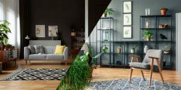 Jak nejlépe kombinovat tmavé stěny v interiéru