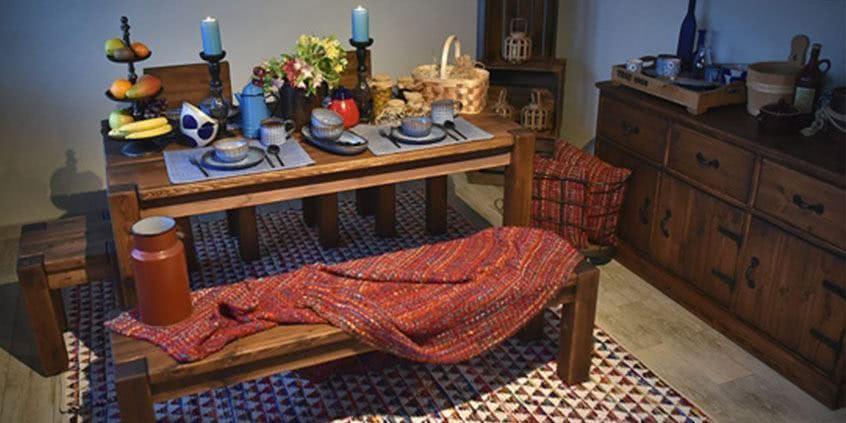 Rustikální nábytek u vás v ložnici