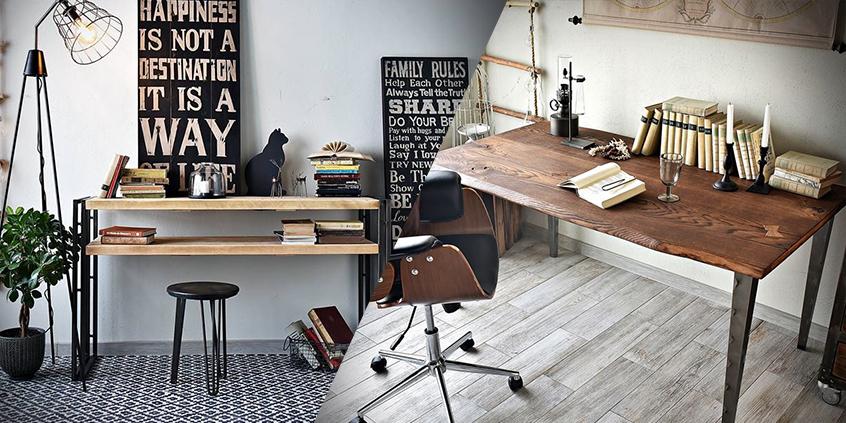 4 alternativní prostory, které jednoduše proměníte v domácí kancelář