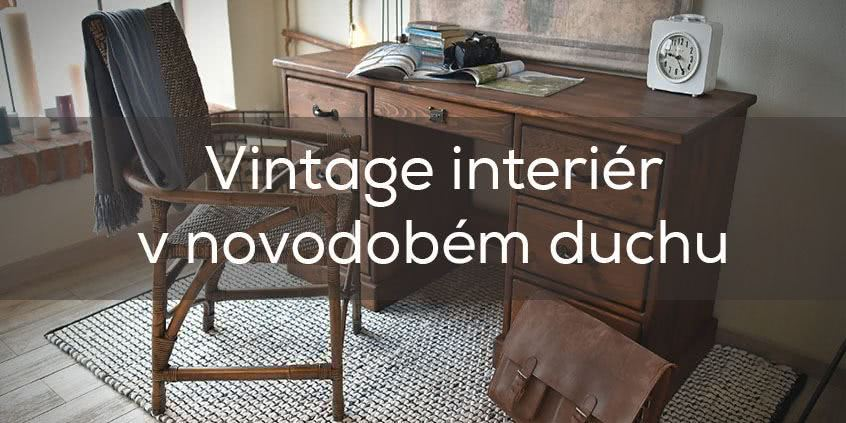 Vintage interiér v novodobém duchu